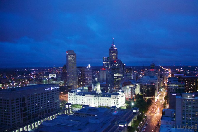 reasons to visit Indianapolis: Indy skyline