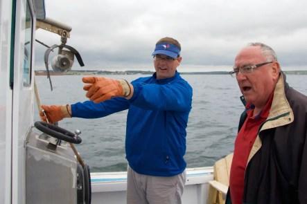 Fiddling Fisherman