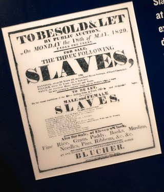 Civil Rights Museum Slaves