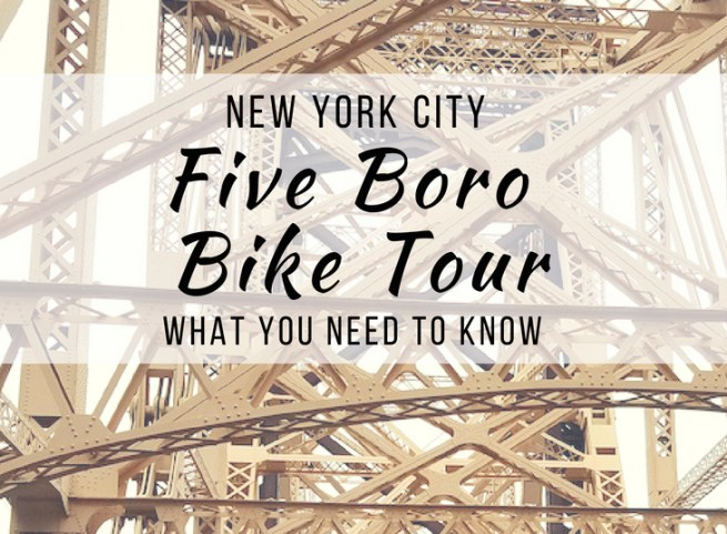 5 Boro Bike Tour