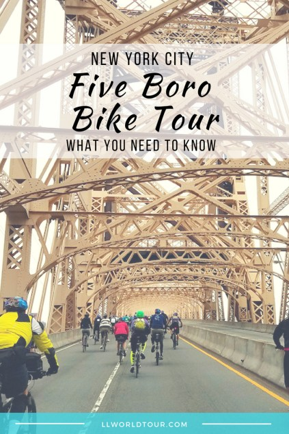 5 Boro Bike Tour tips