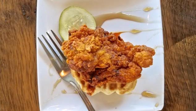 Nashville Hot Chicken Cafe Lula at the Ryman