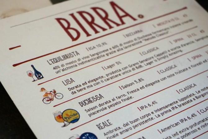 Birra del Borgo Beer
