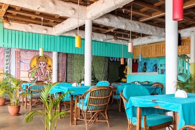 A restautant in Goa