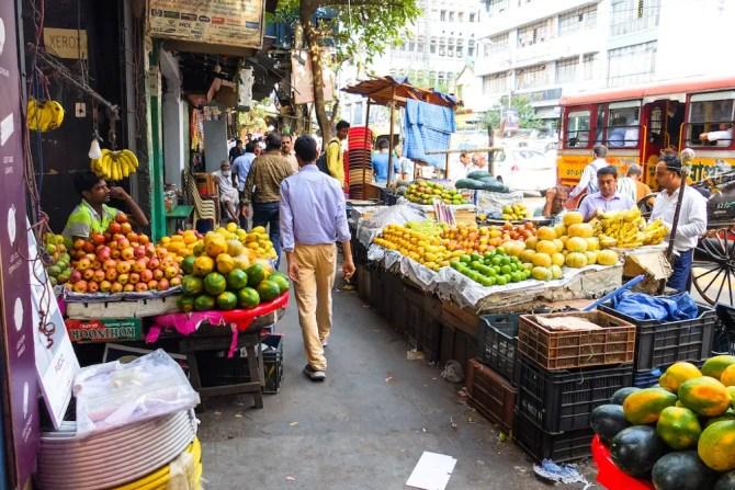Fruit vendors in Goa