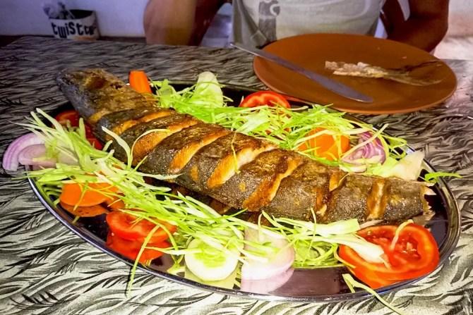 Goan Cuisine: Grilled fish in Goa