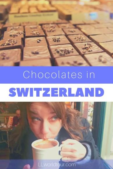 Chocolates in Switzerland