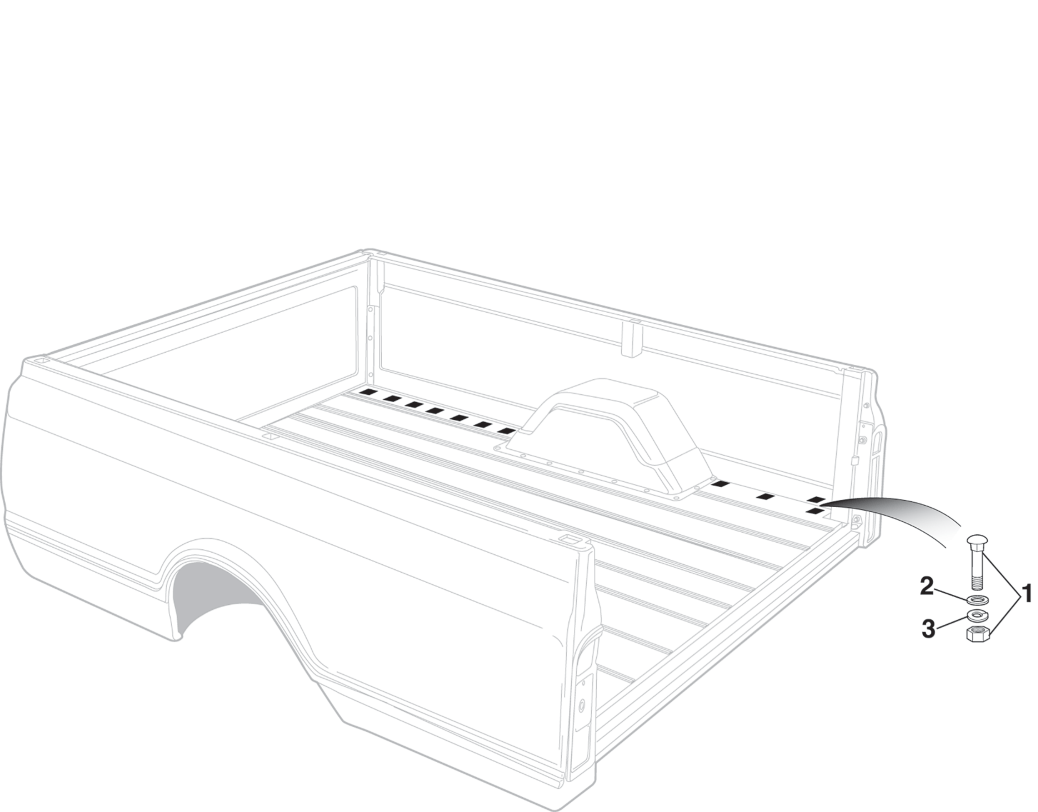 Fleetside Bedside Attachment Steel Floor