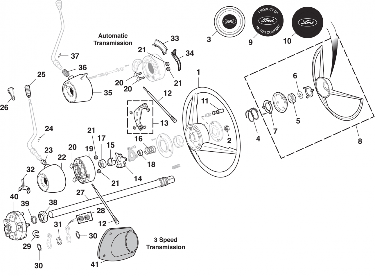 Chevrolet Truck Power Steering Parts Schematics