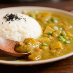 Curry de pois chiche au lait de coco