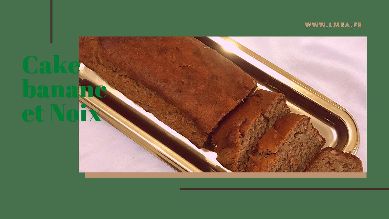Cake à la banane moelleux sans oeuf et sans beurre