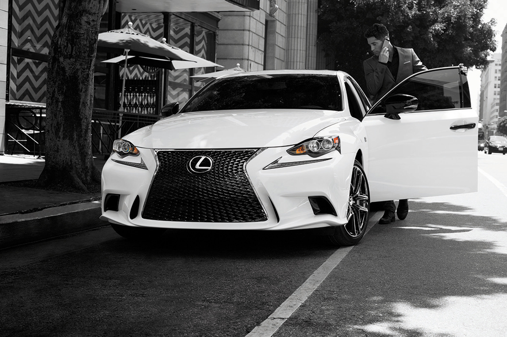 2015 lexus is 250 f sport crafted line front end