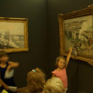 Recherche du détail dans le musée