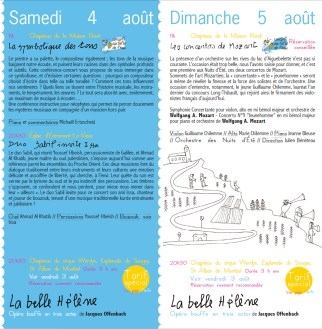 Dépliant / Dessin François Vrod 2012
