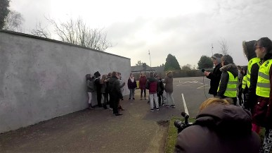 Disparition à l'école - photo tournage 03