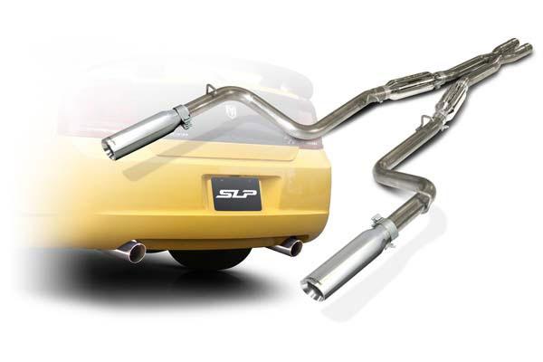slp d31000 loudmouth exhaust 300c cat back system 2005 2010