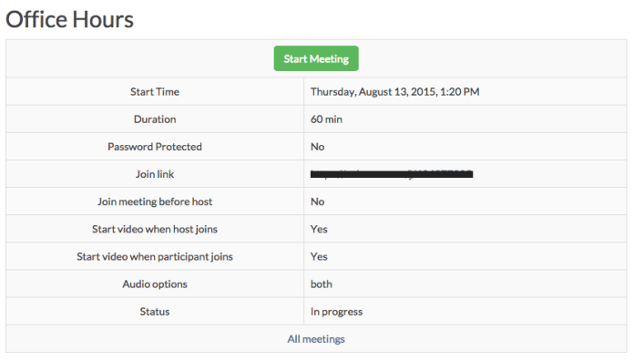 Zoom Meeting Plugin for Moodle