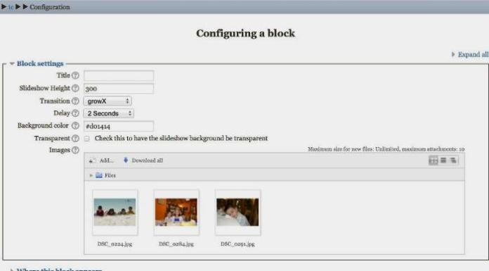 Add A Slideshow To Moodle 3 With This Plugin