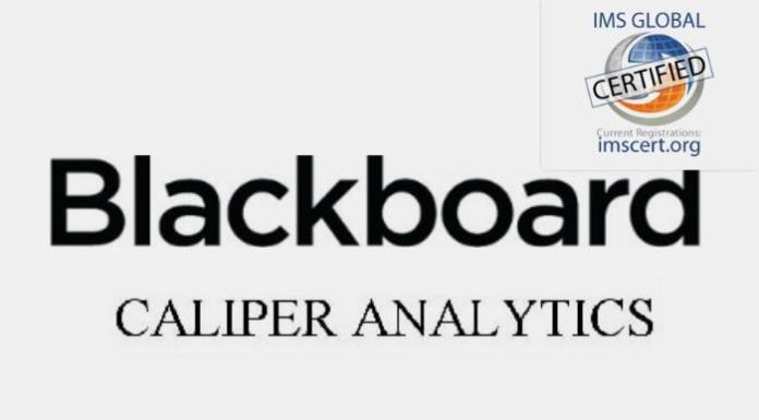 Blackboard Advances Open Data For Moodle With Caliper Certification