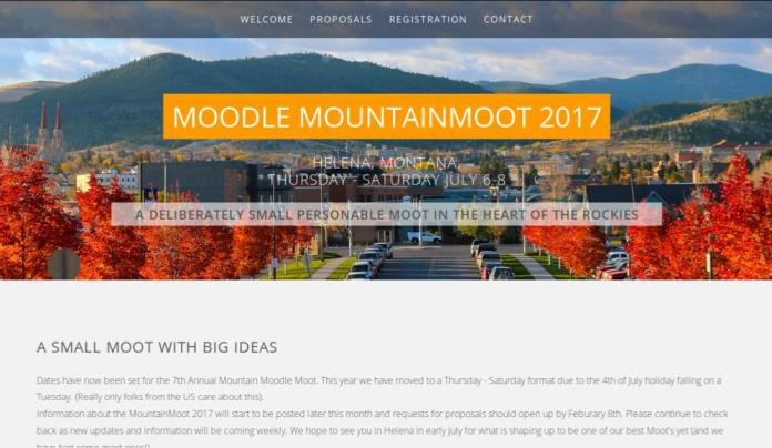 CALL FOR PRESENTATIONS: Moodle MountainMoot 2017
