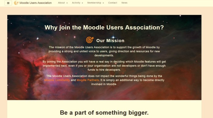 Moodle Users Association Updates Website To 'Boost' Engagement and Participation