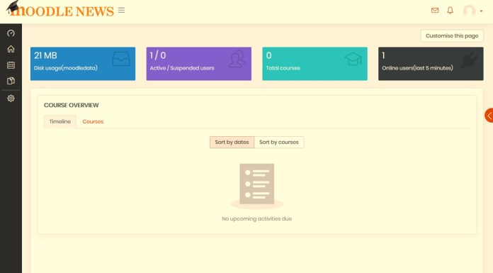 This Moodle Theme Brings The Best Of Many Worlds