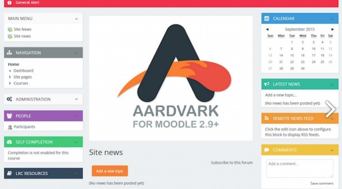 Get The Aardvark Theme For Version 2.9