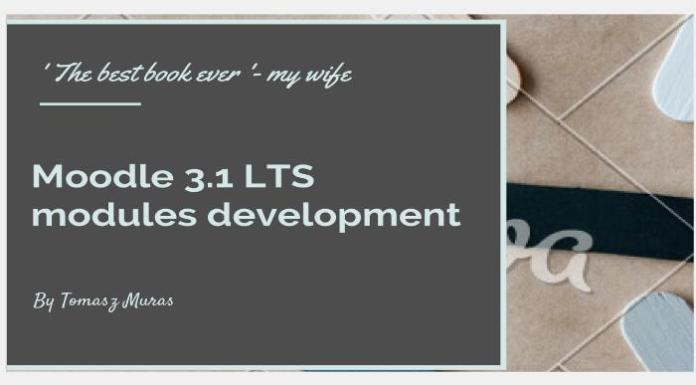 Get This Moodle 3.1 Long-Term Support Development Ebook And Get Ongoing Improvements