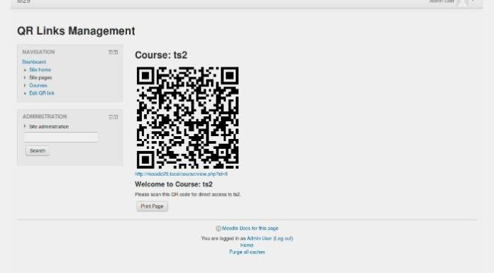Introduce Your Class To Mobile And Ubiquitious Moodle With QR Links