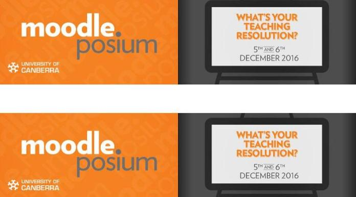 MoodlePosium Canberra 2016: What's Your Moodle Teaching Resolution?