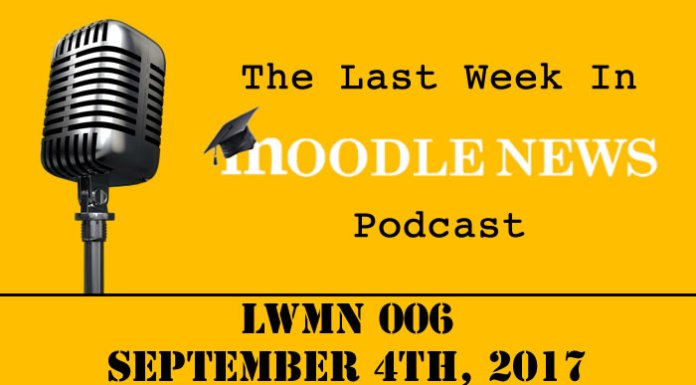 The last week in moodlenews 04 SEP 17