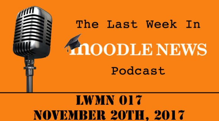 The last week in moodlenews 20 NOV 17