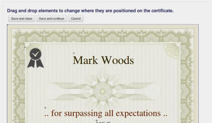 Verify Your Moodle Students Out To The World With Custom Certificate Plugin
