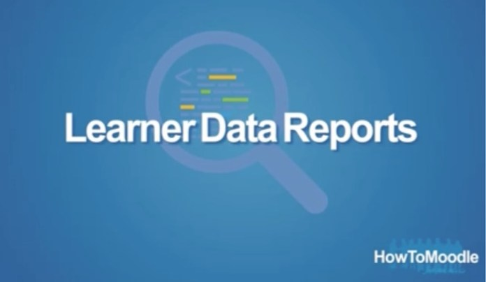 learner data reports howtomoodle