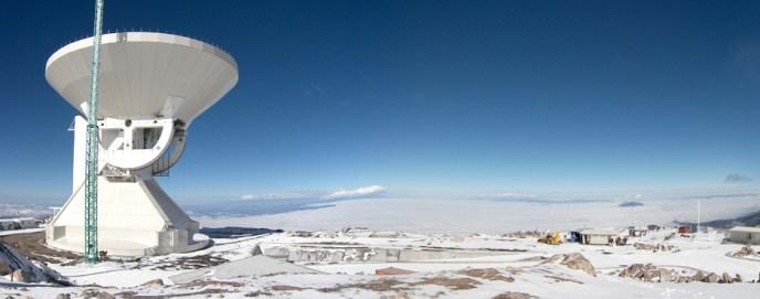 Resultado de imagen para Gran Telescopio Milimétrico