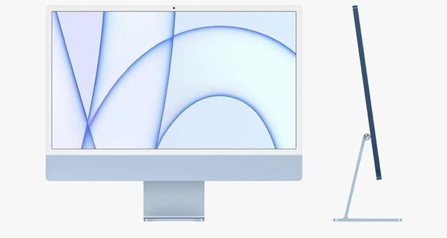 M1 iMac - Blue