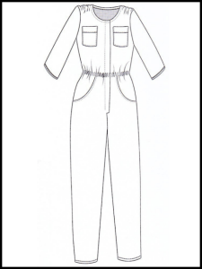 Combi-Pantalon d'Elisabeth