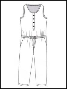 Combi-Pantalon Ally