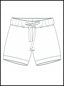 Short de surf Faros
