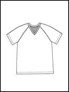 T-shirt Samos