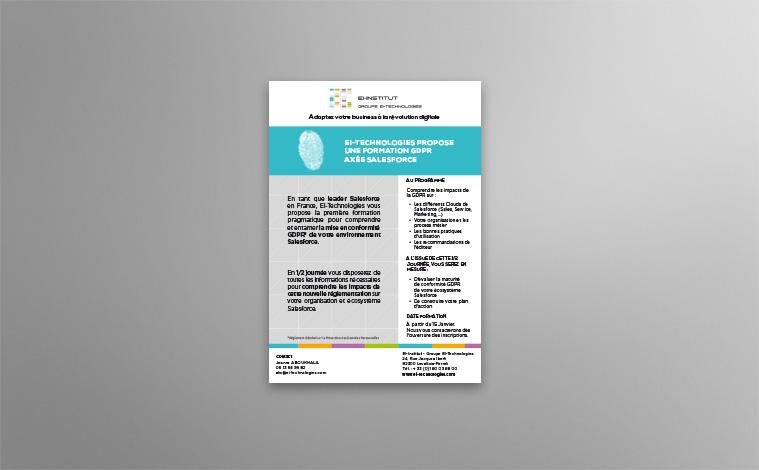 Création flyer nouvelle offre - EIT