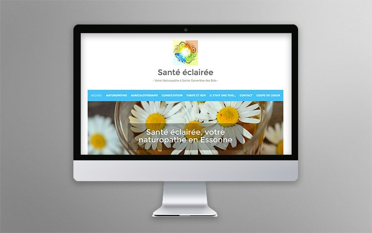 Création site Internet WordPress - Naturopathe