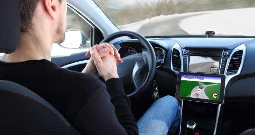 מכונית אוטונומית מכונית ללא נהג