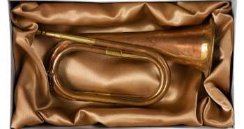 Bugler's trumpet