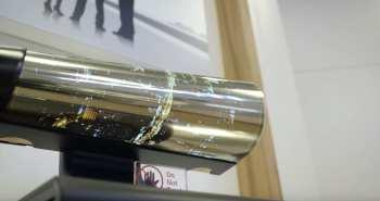 LG roll up display