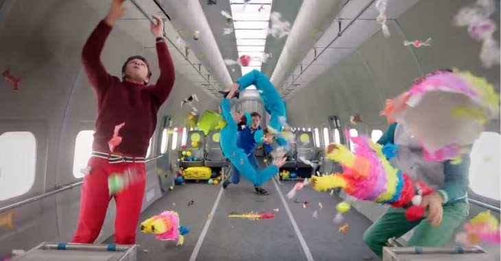 ok go upside down and inside out