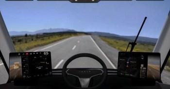 משאית חשמלית מכונית חשמלית של טסלה