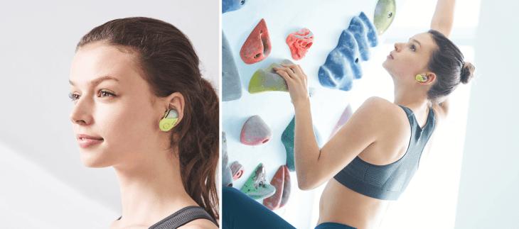 אוזניות אלחוטיות של סוני