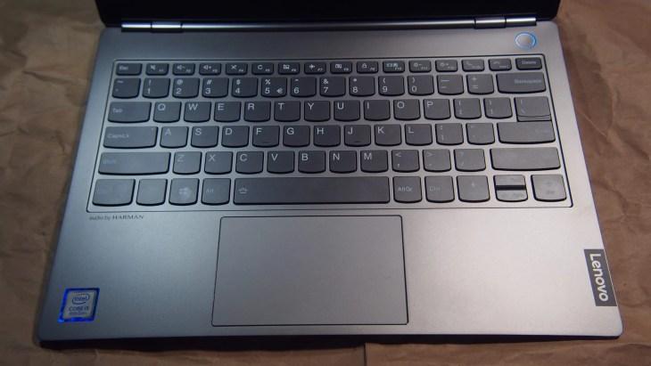 המקלדת של ThinkBook 13S-IWL
