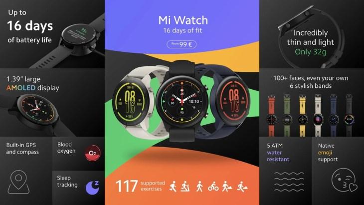 שעון Mi Watch